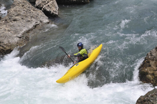 Kayak en pirineo aragonés
