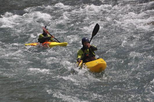 Cursos de Kayak en el Pirineo