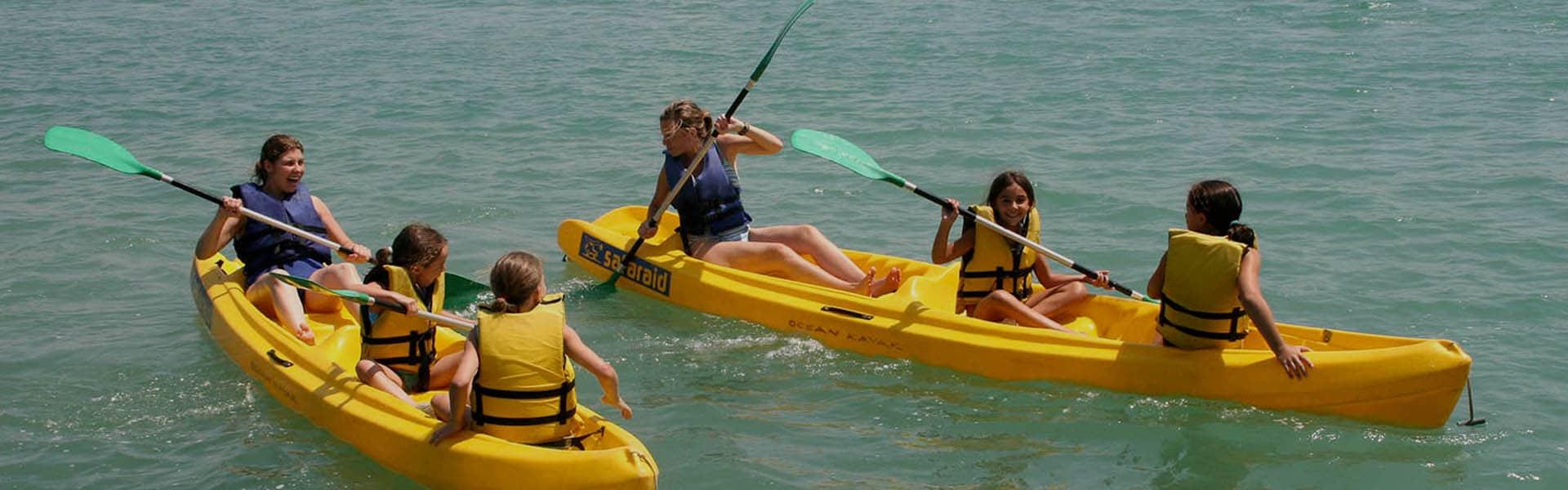Alquiler de Kayaks o Piraguas