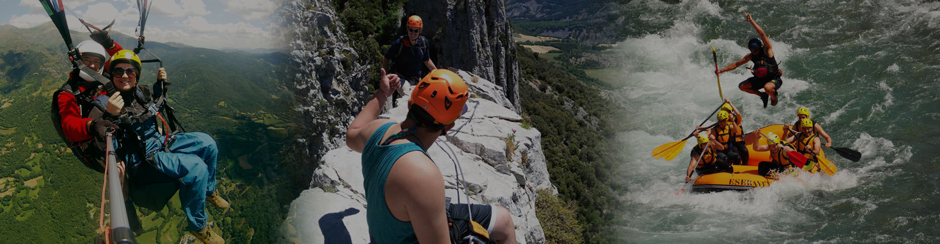 Packs Multi aventura en el Pirineo de Huesca