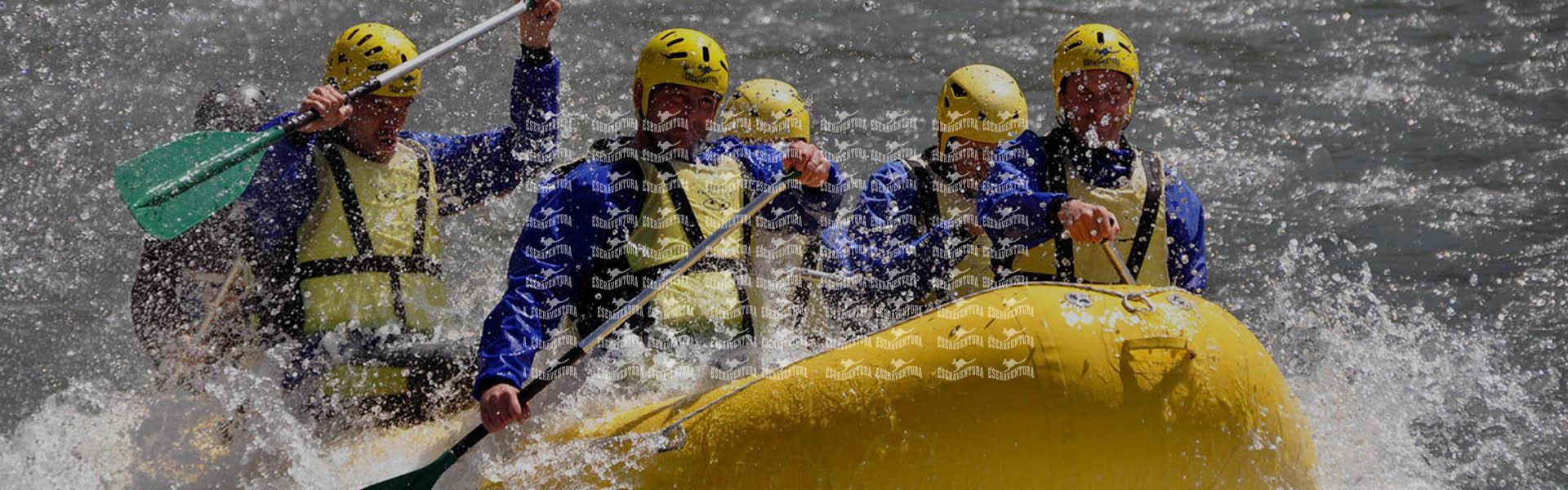 Rafting Adulto – Desfiladero de Pirámides (C)
