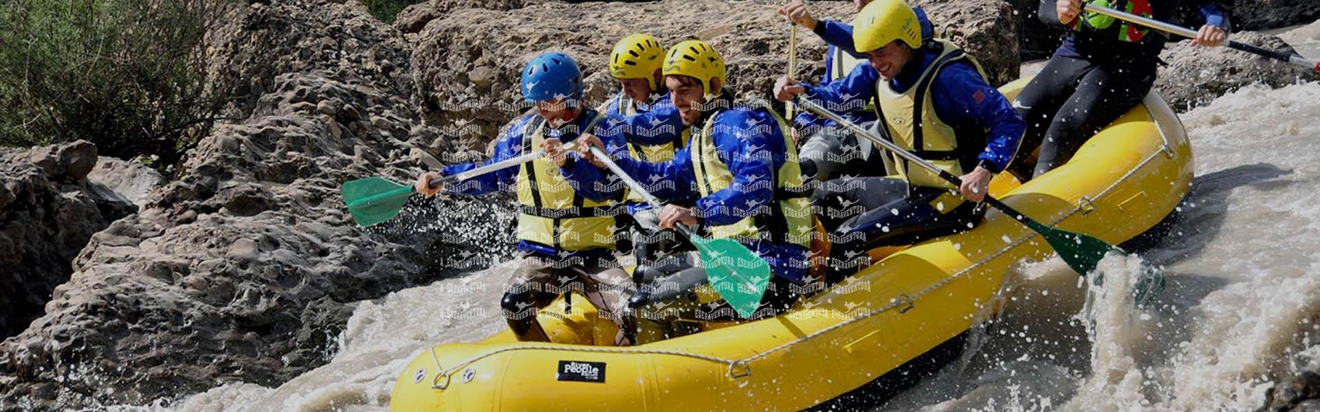 Rafting Exclusivo Grupos